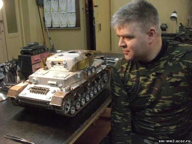 Танковое сражение, радиоупровляемые танки