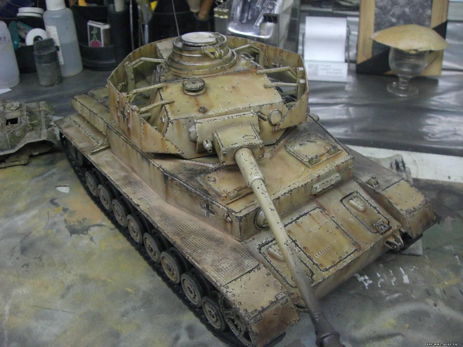 Модели своими руками танков фото